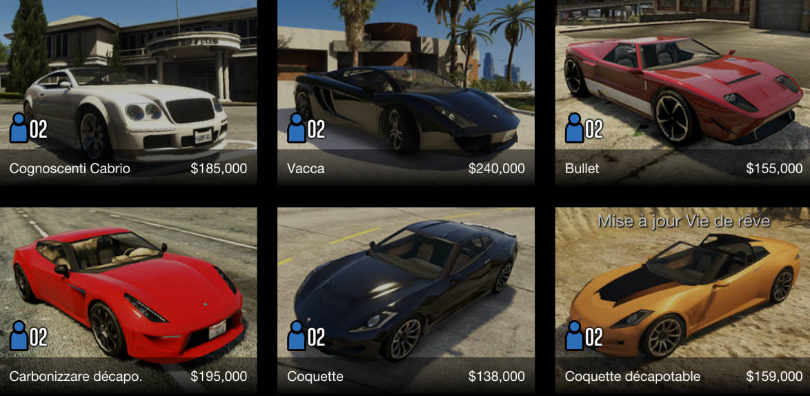Gta Online Achat De Vehicules Game Guide