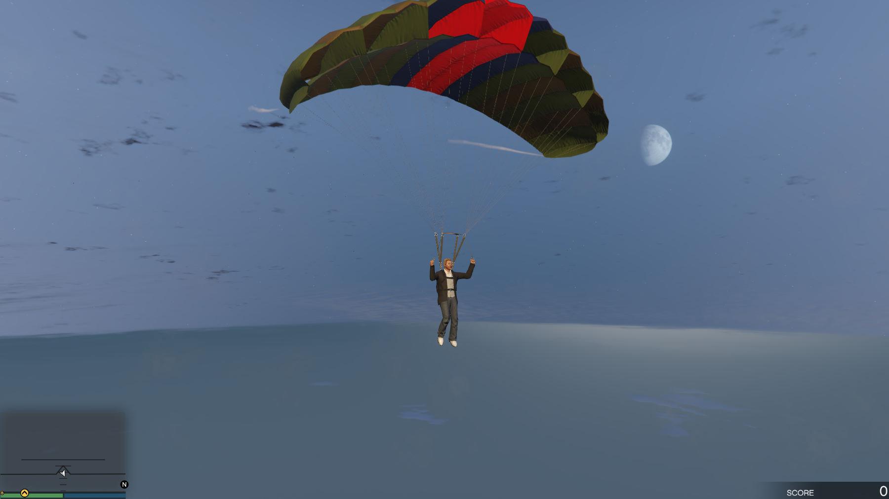 parachutisme risque objectif quotidien