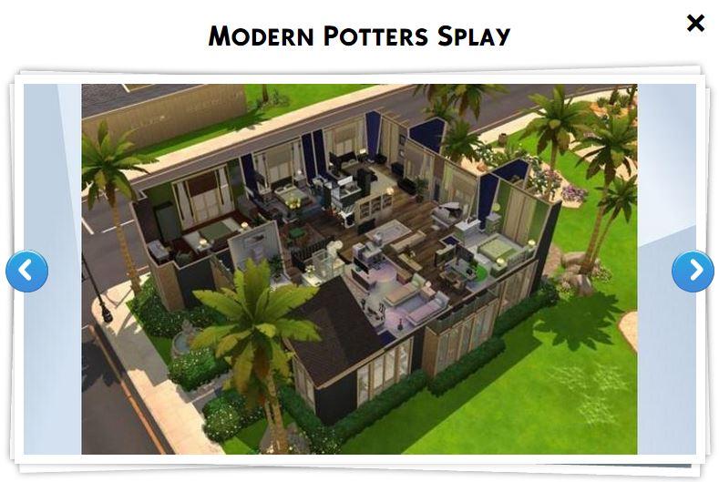 Les sims 3 maison moderne great maison with les sims 3 for Maison moderne sims 3
