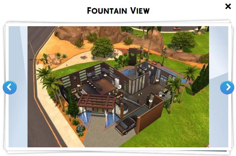 Modele Maison Sims  Excellent The Edgewater Une Maison Pour Lucky