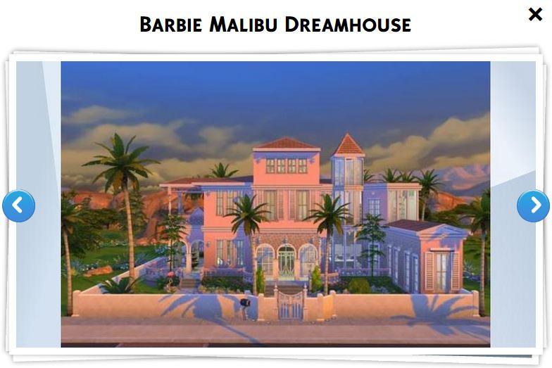 Les sims 4 galerie 12 game guide for Barbie vie dans la maison de reve