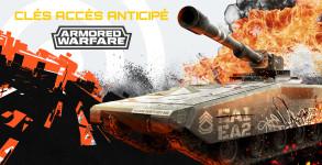 Armored Warfare – Clés accès anticipé