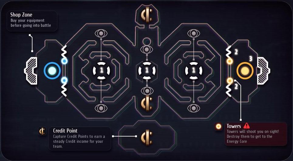 Games of Glory - Arkashan - Carte et présentation