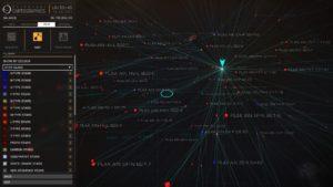 ED - Map exploration stars
