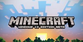 Minecraft – Une édition Windows 10 annoncée