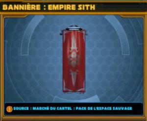 Bannière - Empire Sith