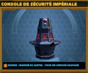 Console de sécurité Impériale