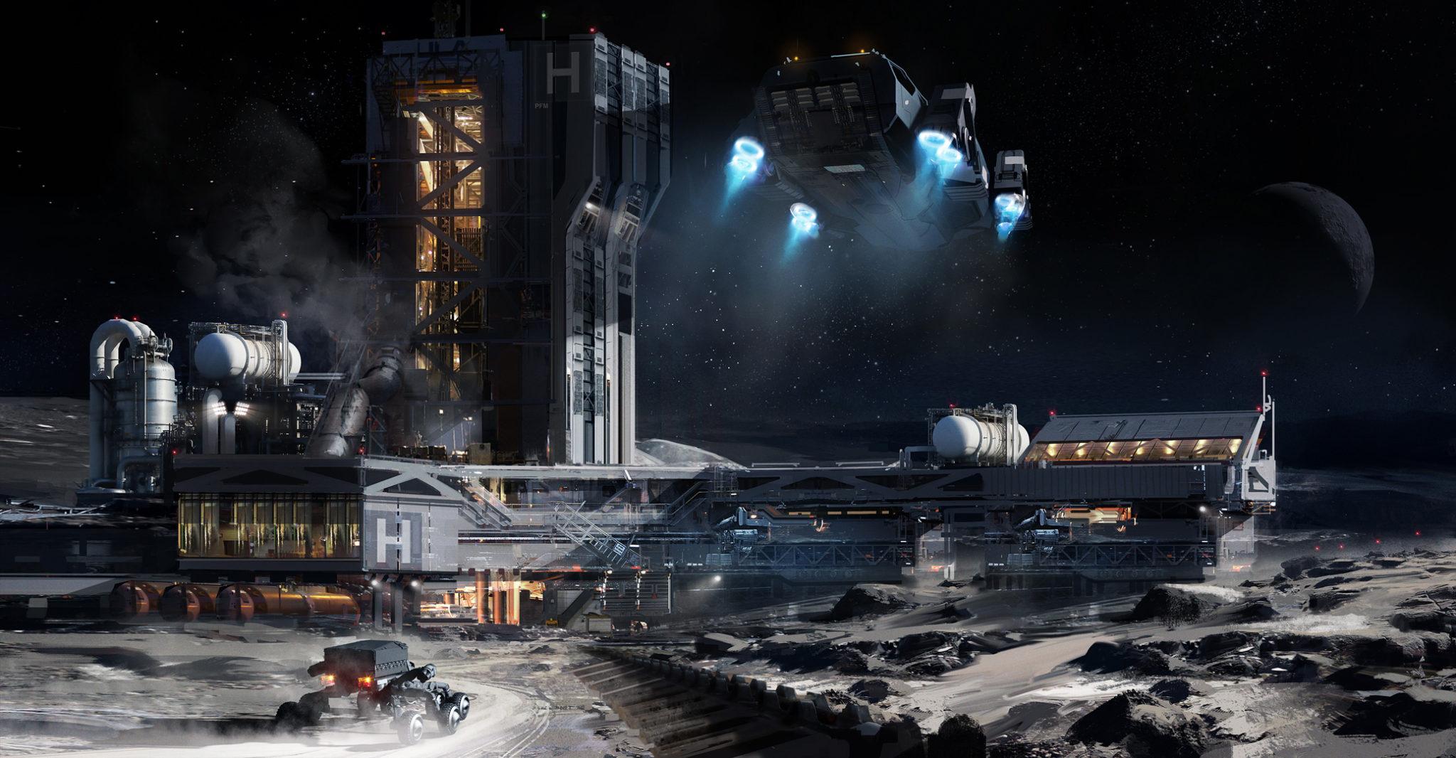Horizons Elite Dangerous Concept Art