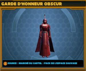 Garde d'honneur obscur
