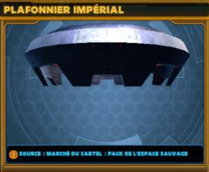 Plafonnier Impérial