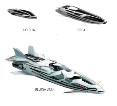 ED - Ships Dolphin Orca Beluga