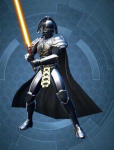 Chevalier Jedi Classé Homme arme
