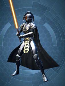 Chevalier Jedi Classé arme Femme