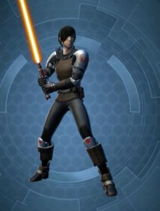 Chevalier Jedi JCJ Homme normal arme