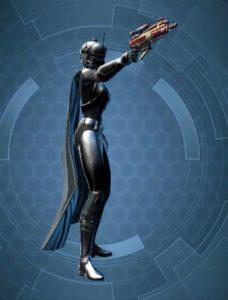 Contrebandier Femme Classé Arme