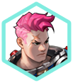 Overwatch - Portrait Zarya