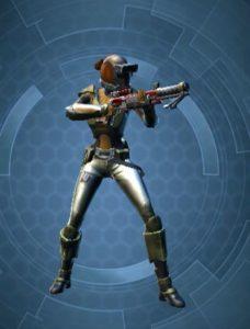 Soldat Femme Normal Arme