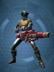 Soldat Homme Normal Arme