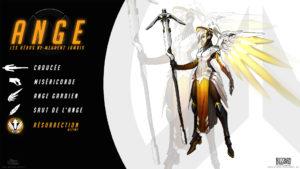 Overwatch - Fond d'écran résumé - Ange