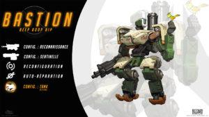 Overwatch - Fond d'écran résumé - Bastion