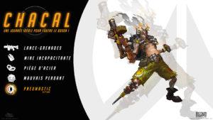 Overwatch - Fond d'écran résumé - Chacal