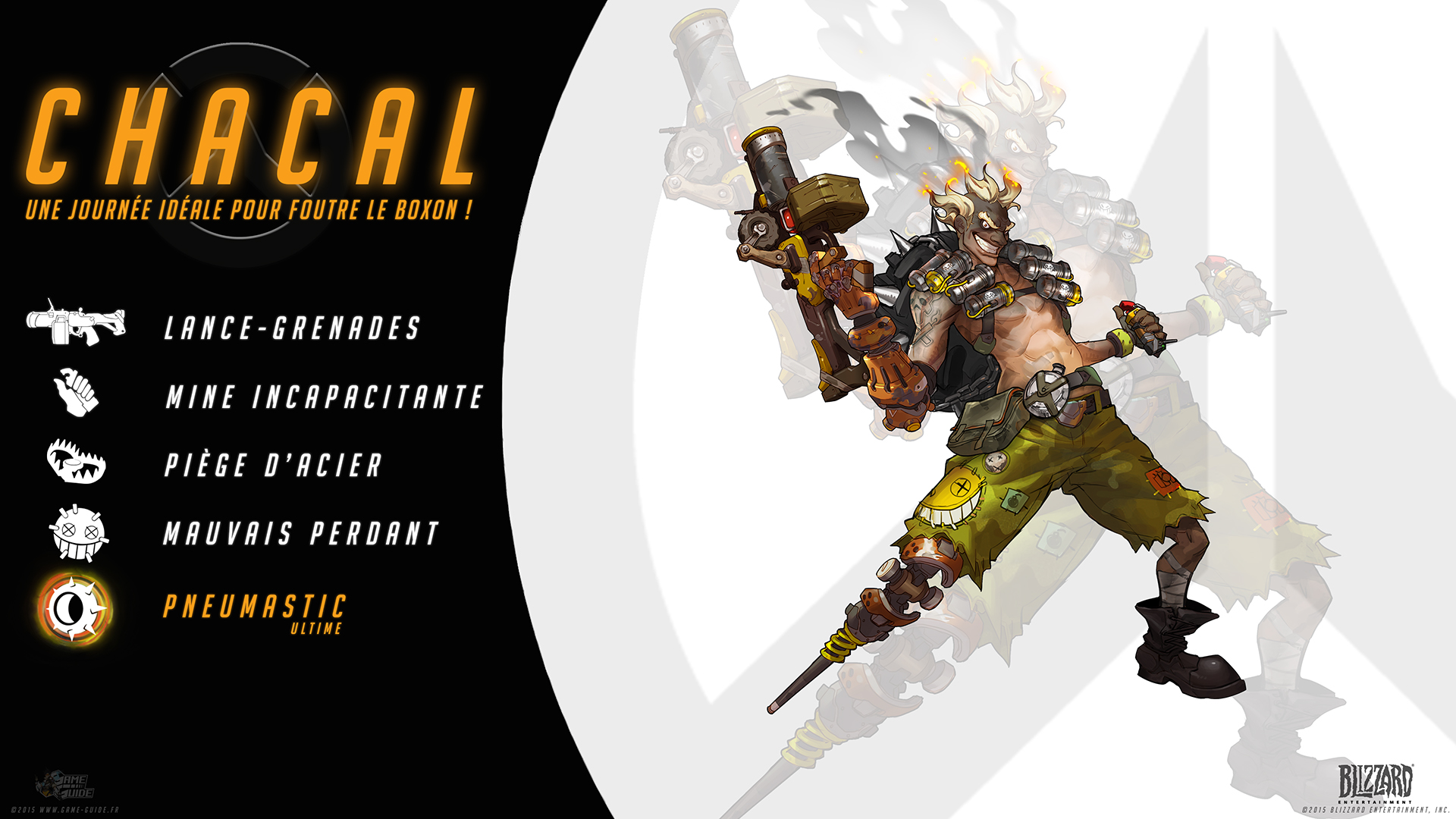 Overwatch Guide Chacal Quot Une Journ 233 E Id 233 Ale Pour Foutre
