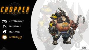 Overwatch - Fond d'écran résumé - Chopper