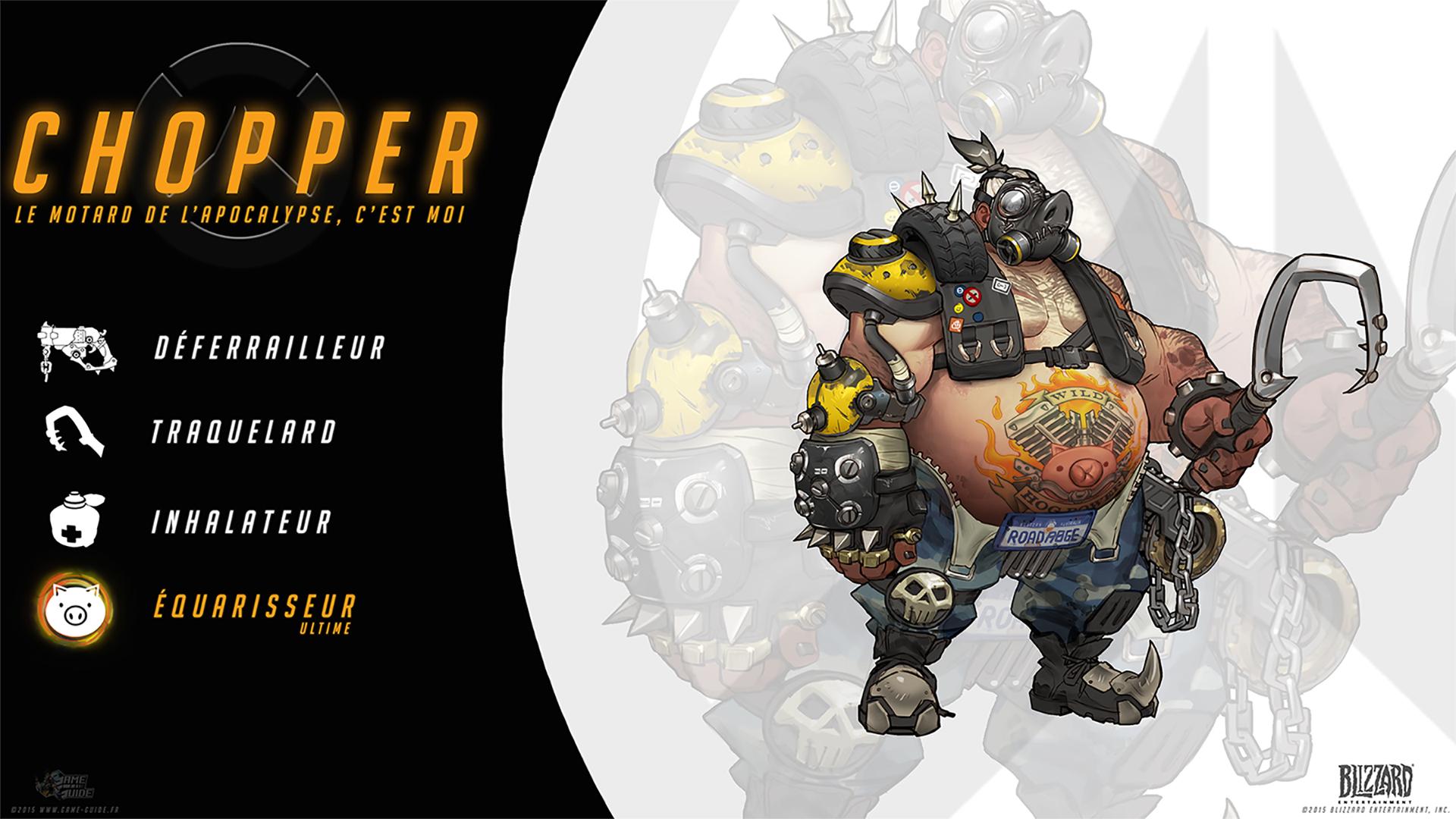 Overwatch Guide Chopper Quot Le Motard De L Apocalypse C