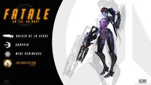 Overwatch - Fond d'écran résumé - Fatale