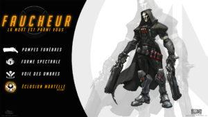 Overwatch - Fond d'écran résumé - Faucheur
