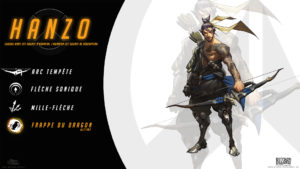 Overwatch - Fond d'écran résumé - Hanzo