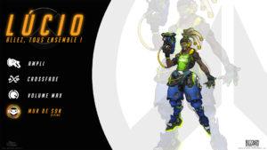 Overwatch - Fond d'écran résumé - Lucio