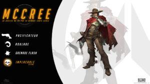 Overwatch - Fond d'écran résumé - McCree
