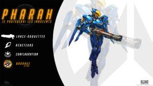 Overwatch - Fond d'écran résumé - Pharah