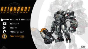 Overwatch - Fond d'écran résumé - Reinhardt