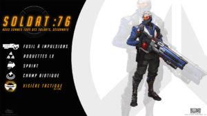 Overwatch - Fond d'écran résumé - Soldat 76