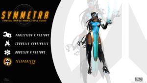 Overwatch - Fond d'écran résumé - Symmetra