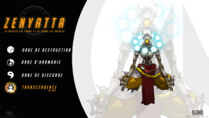 Overwatch - Fond d'écran résumé - Zenyatta