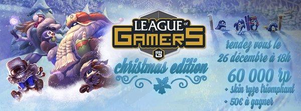 LoL - G4G Leagues of Gamers Noël Splashart
