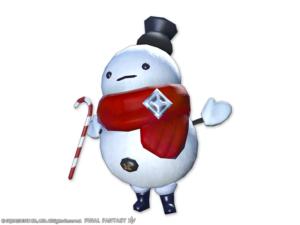 Kiosque mog - Mascotte - Bébé bonhomme de neige
