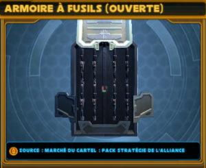 SWTOR_Pack_Cartel_Strategie_Alliance_Décorations_Armoire_fusils_ouverte