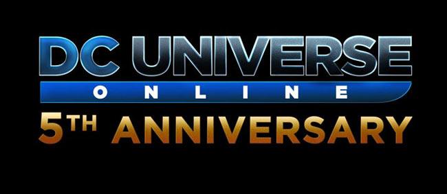DC Universe Online 5eme anniversaire