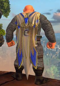 Neverwinter - Don des dieux - Manteau céleste.