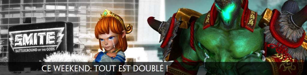 SMITE - Double Week End