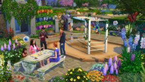 Sims4_JardinRomantique