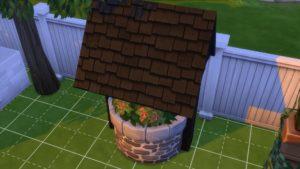 Sims4_JardinRomantique_PuitsauSouhaitRetraite