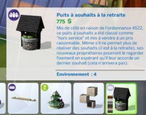 Sims4_JardinRomantique_PuitsauSouhaitRetraite2