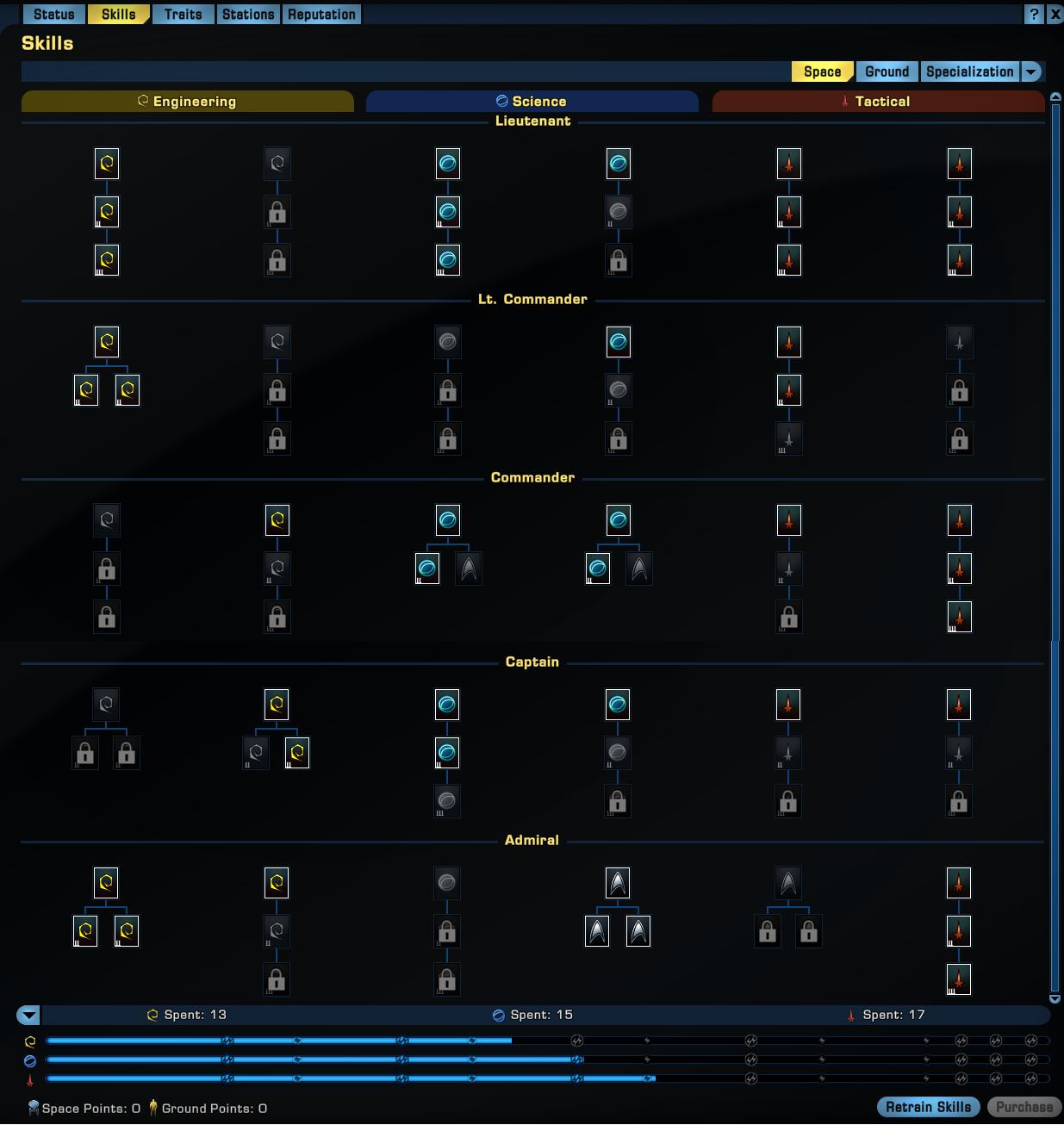 Star Trek Online Taktiker Skillung 2021