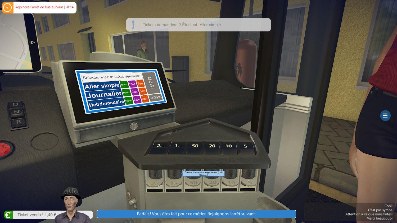 bus simulator 16 aper u du jeu de simulation de bus. Black Bedroom Furniture Sets. Home Design Ideas