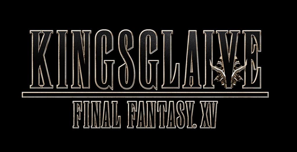 Kingsglaive - FFXV logo - Couverture